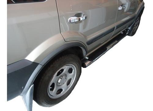 estribos cromados p/ ford ecosport 2008 2009 2010 2011 2012