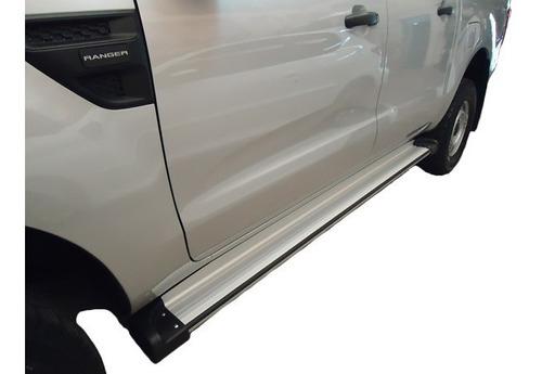 estribos de aluminio p/ amarok ranger hilux s10