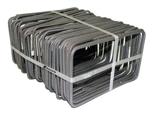 estribos hierro 6 paquete de 15 unidades