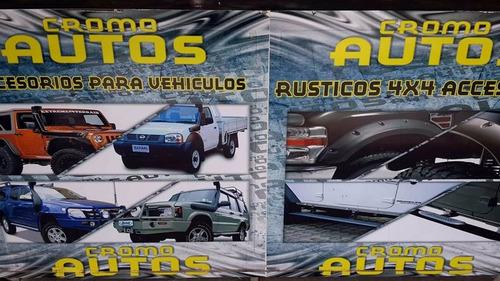 estribos jeep cj5 cj6 cj7 wrangler willys 4x4 campero