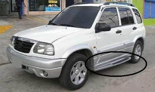 estribos laterales para chevrolet grand vitara xl5