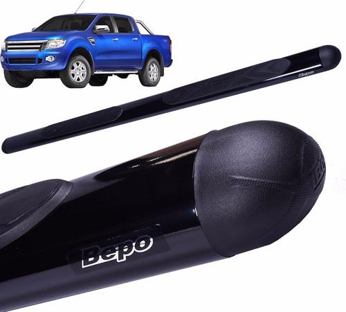 estribos maxi oval negro bepo para ford ranger 2013+
