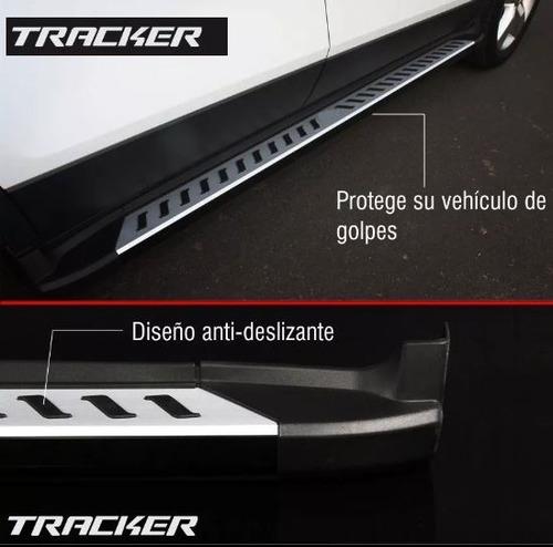 estribos originales chevrolet tracker importados 2013-2018