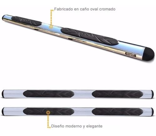 estribos oval cromado bepo para toyota hilux 2005 2010 2015