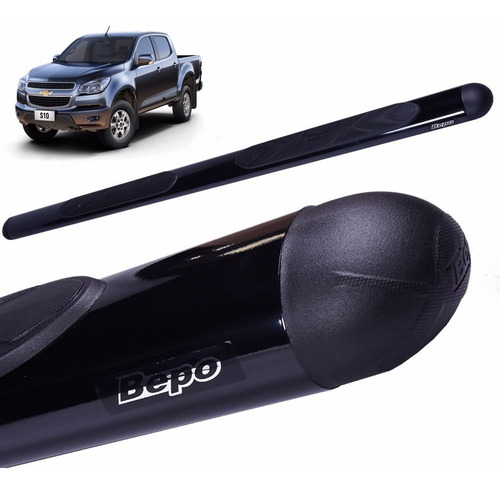 estribos oval negro bepo p/ toyota hilux 2016 2017 2018 2019