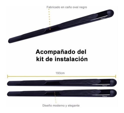 estribos oval negros bepo p/ ford ranger 2013 2017 2018 2019