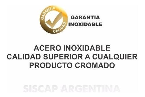 estribos oval siscap en acero inoxidable para ranger 2012 +