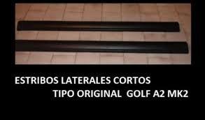 estribos para golf gti jetta a2 gli tipo original oferta