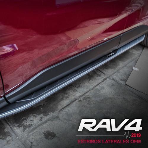 estribos para toyota rav4 2020