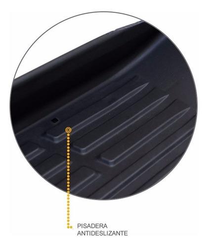 estribos plasticos inyectados bepo negros para fiat toro