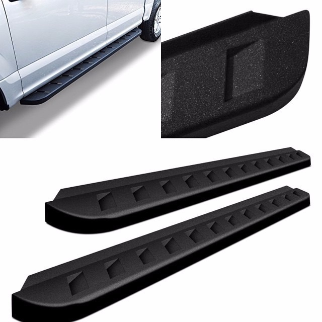 estribos running boards rb10 ford f 150 super crew 2015. Black Bedroom Furniture Sets. Home Design Ideas