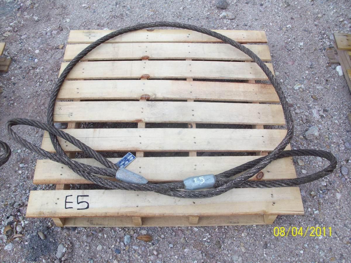 Estrobo de cable de acero para maniobras de carga for Cable de acero precio