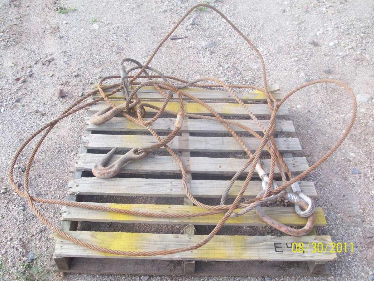 Estrobo doble cable de acero 9 x 9 de 5 8 pulgada for Cable de acero precio