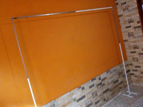 estructura 2x2 fondos de mesa candy bar cumpleaño extensible