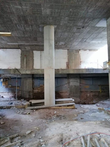 estructura de hormigón armado albañilería yeso pintura