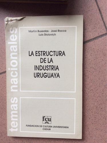 estructura de la industria uruguaya