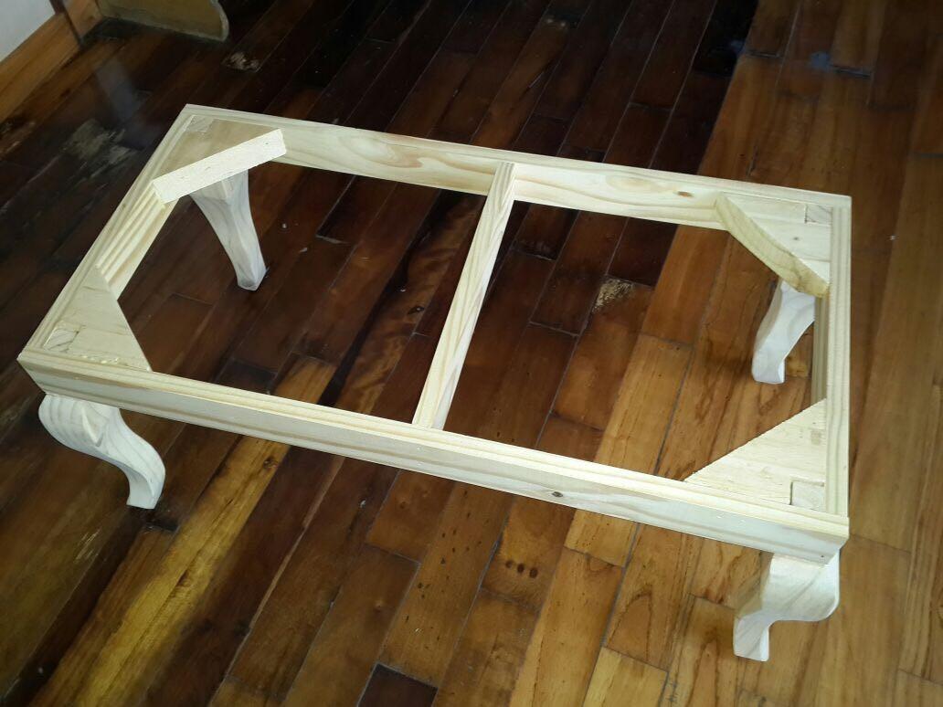 Estructura De Pie De Cama- Banqueta. Patas Reina Ana. - $ 725,00 en ...