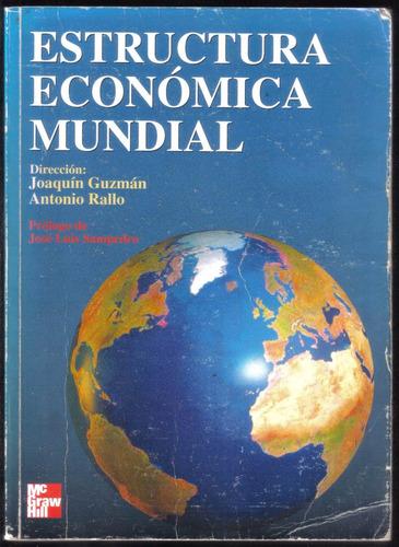 estructura económica mundial, joaquín guzmán y antonio rallo