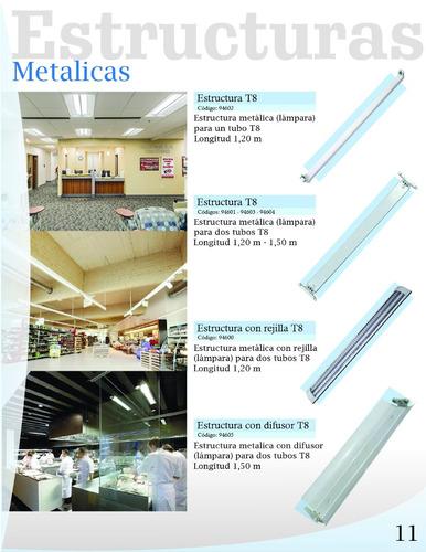 estructura metalica 1,20 mt un tubo