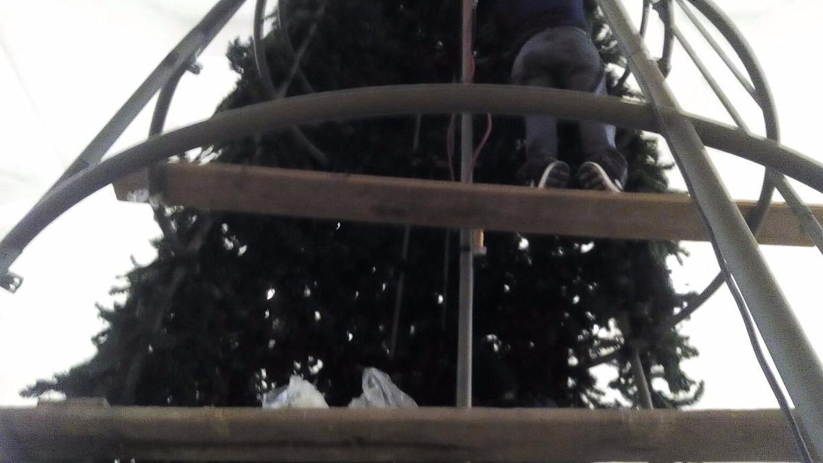 Estructura Para Arbol De Navidad Gigante 66 000 00 En Mercado  # Muebles El Gigante Saltillo