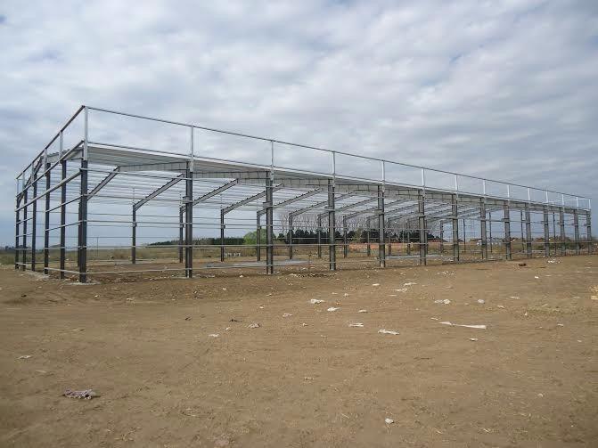 Estructura Tinglado Galpon 10x20 Columnas Y Vigas - $ 725,00 en ...