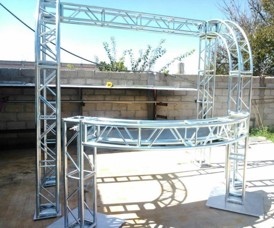 Moderno Estructura De La Cabina De Aluminio Modelo - Ideas ...