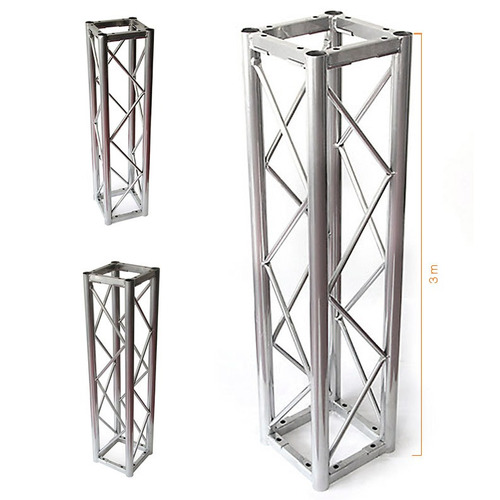 estructura truss cuadrada 24x24 cm tramo 3 metros jk4 k943g2