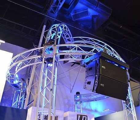 estructura truss triangular xpro k933 24cm 3metros