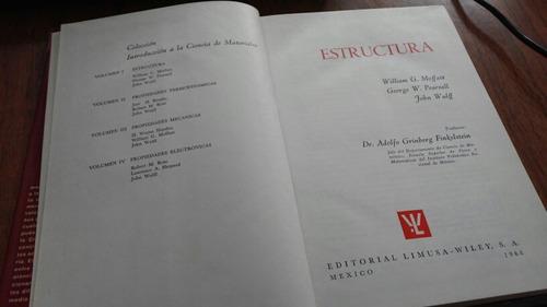 estructura - william g. moffatt