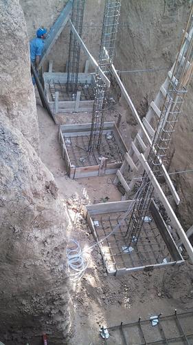 estructuras de hormigon armado tomamos metros en departamen.