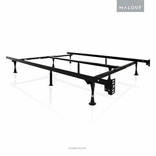 Estructuras De Malouf Marco De Cama Ajustable De Metal De ...
