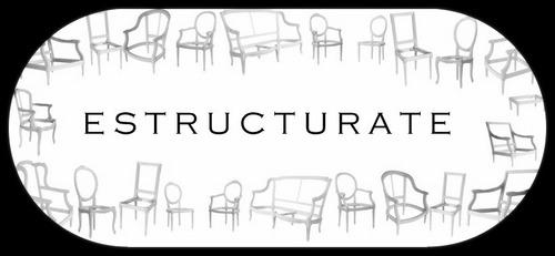 estructuras / esqueleto sillon colonial estilo frances