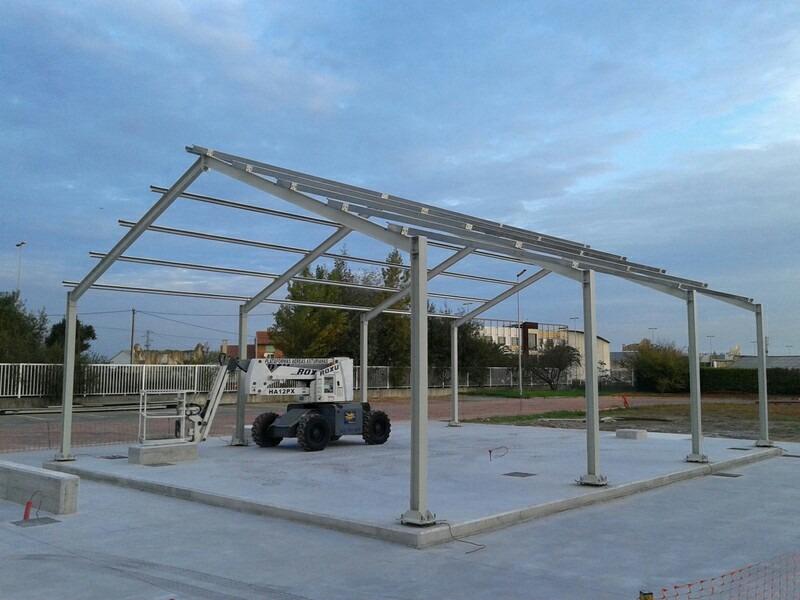 Estructuras metalicas u s 70 00 en mercado libre for Techos estructura metalica para casas