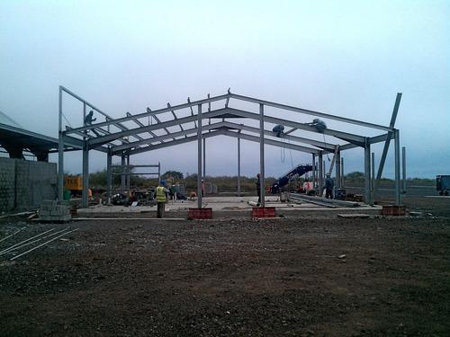 estructuras metálicas diseño, calculo, fabricacion y montaje