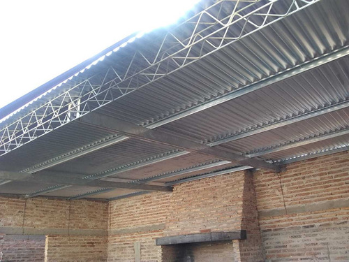 estructuras metalicas, galerías, tinglados dch. $2900 mts
