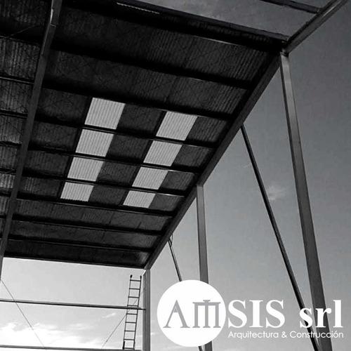 estructuras metálicas naves industriales galpones oficinas