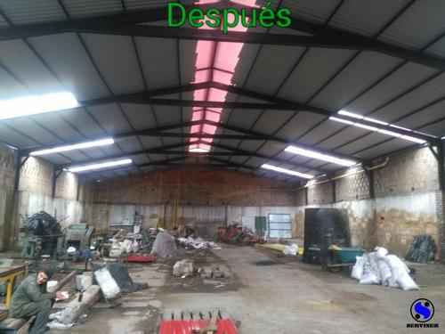 estructuras metalicas y mantenimiento industrial
