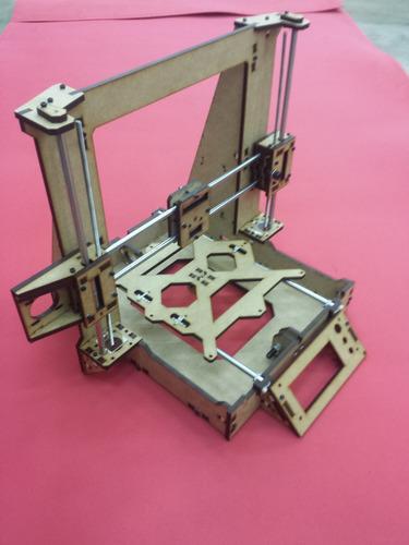 estrutura completa (frame) impressora 3d graber i3 gtmax3d