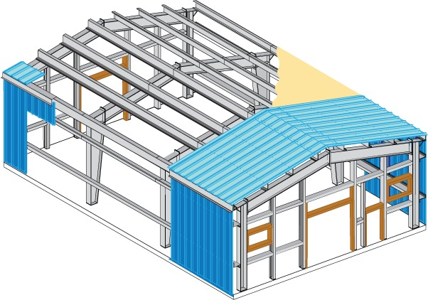 Estrutura Metalica Galp 227 O Cobertura Metalica Mezanino