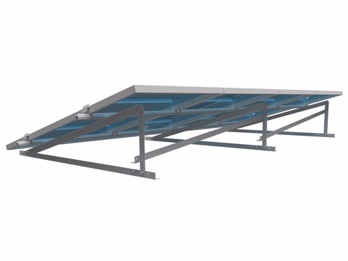 estrutura painel solar romagnole 410923 rs-186 4 placas laje