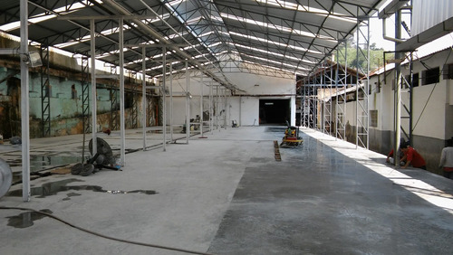 estruturas metálicas + piso industriais