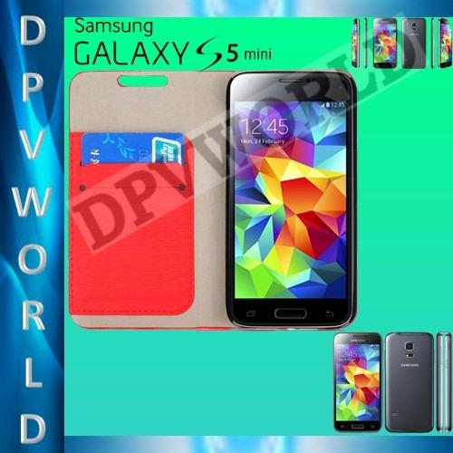 estuche agenda samsung galaxy s5 mini sm-g800