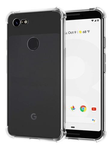 estuche antichoque alpha google pixel 3 - transparente