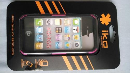 estuche antishock iko  iphone 4, 4s