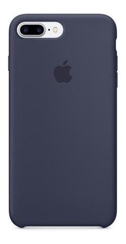 estuche apple case de silicone para iphone 7 plus 8 plus