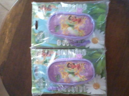 estuche bolso multiuso para niñas .disney hadas. marca  capi