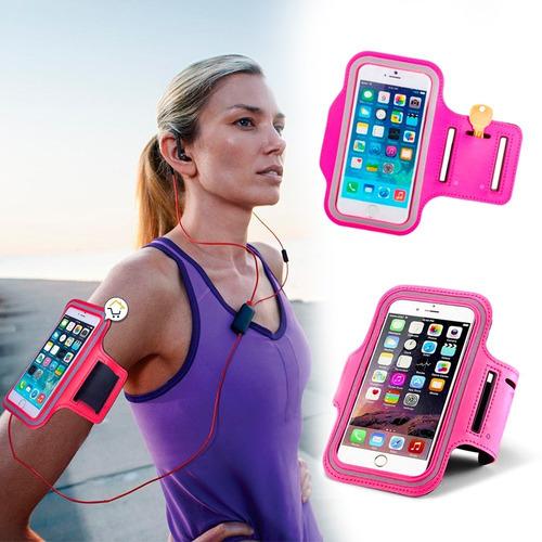 estuche brazo celular brazalete deportivo manos libres