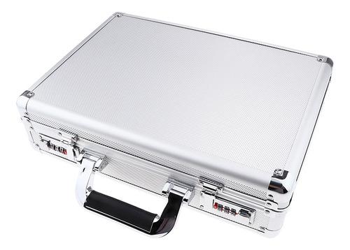 estuche caja de candados llaves de aluminio accesorios