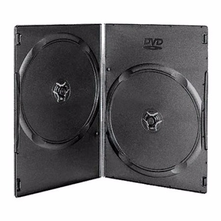 estuche / caja dvd 9mm doble x 150 u