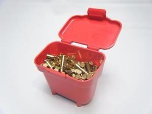 estuche caja para 100 balas cal 22 con clip mtm usa 8133